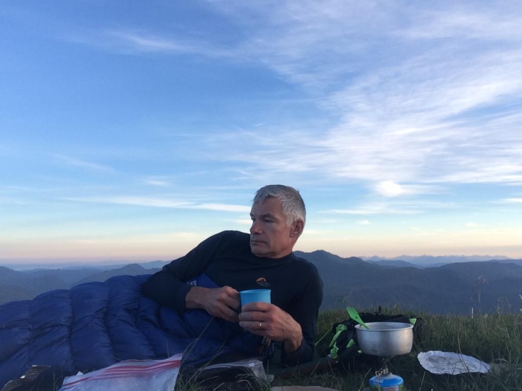 Munro top bivvy