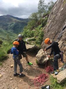Rock climbing introduction